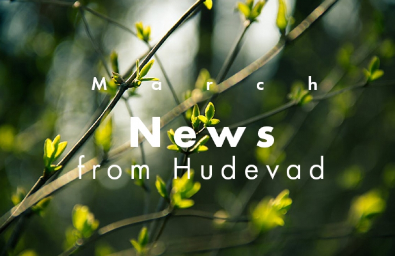 March news from Hudevad